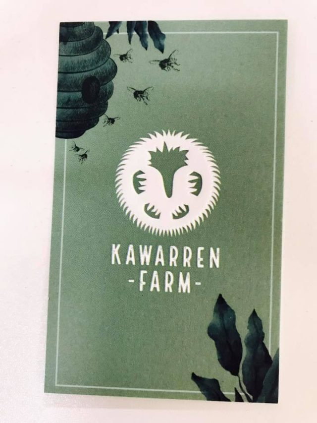 Business cards, kawarren, farmstay